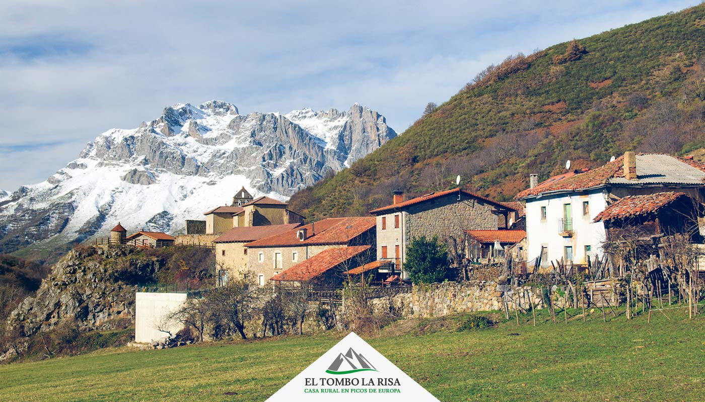 Localidad de Santa Marina de Valdeón - Valle de Valdeón -Picos de Europa