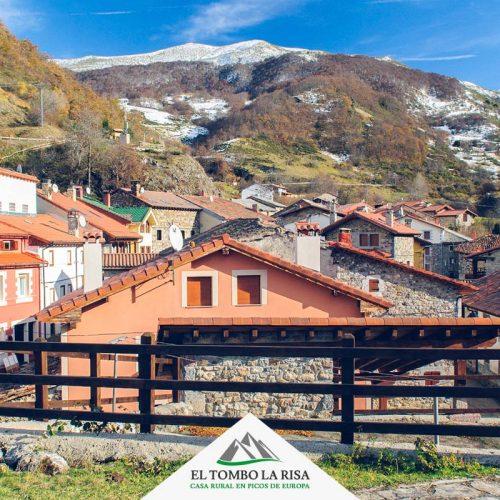 Vista del pueblo - Valle de Valdeón -Picos de Europa