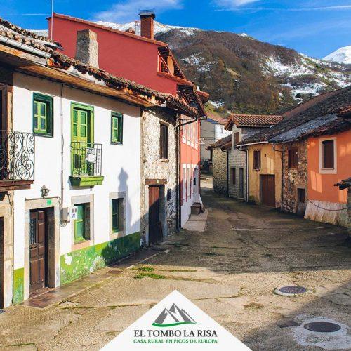 Calles del pueblo - Valle de Valdeón -Picos de Europa