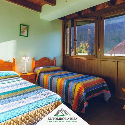 Habitación doble 1ª planta - Turismo rural en Picos de Europa