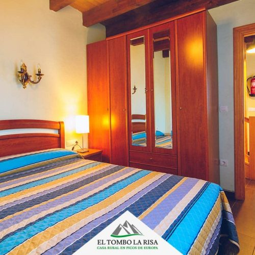 Habitación matrimonial 1ª planta - Turismo rural en Picos de Europa
